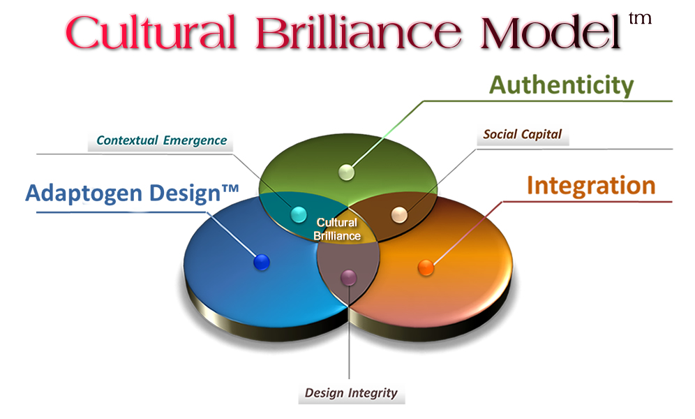 Cultural Brilliance Model - Adaptogen Design