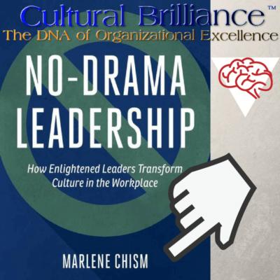 Cultural Brilliance Blog- Claudette Rowley - No drama leadership, drama in the workplace