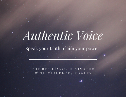 Authentic Voice, Authentic Power!