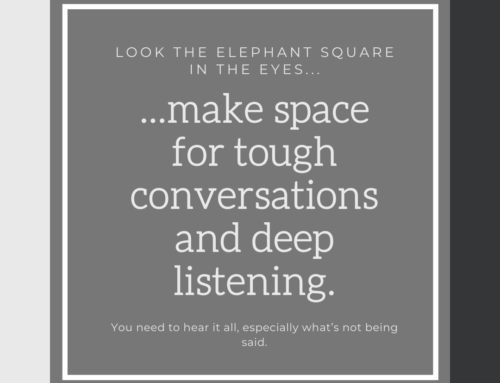 Make Space for Tough Conversations