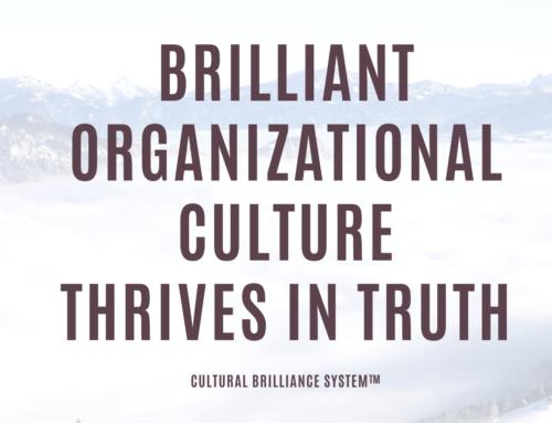 Brilliant Organizational Culture