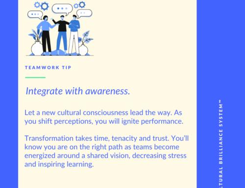 Teamwork Tip